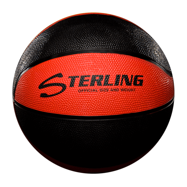 8 Panel Rubber Camp Basketball - Red Black