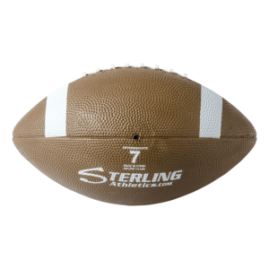 Brown Rubber Camp Football