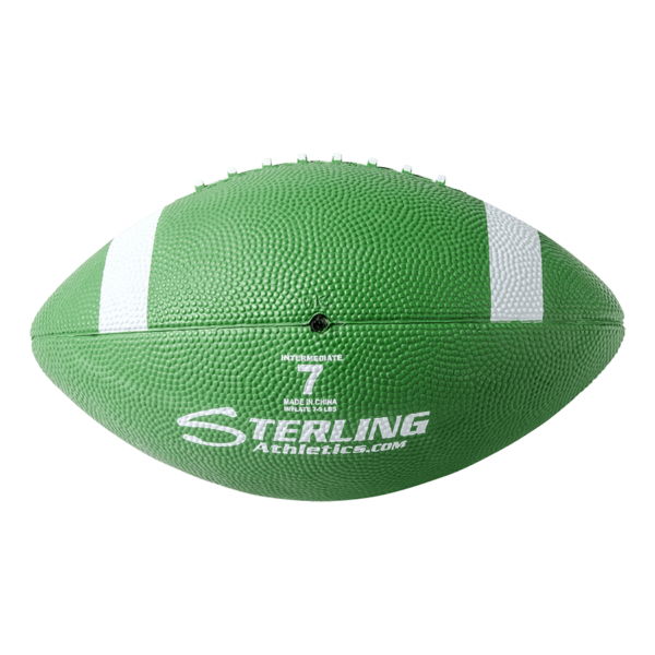 Color Rubber Camp Football Green White