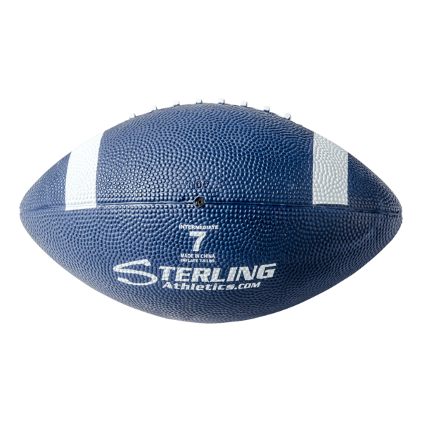 Color Rubber Camp Football Navy White