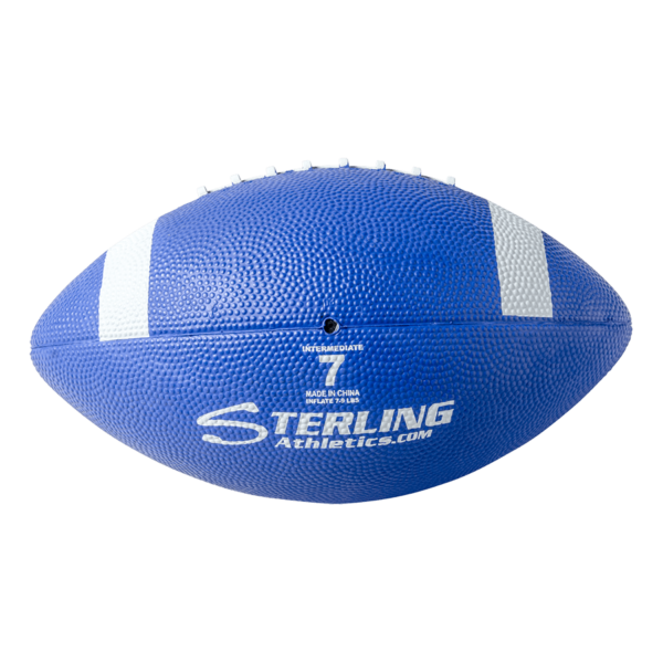 Color Rubber Camp Football Royal White