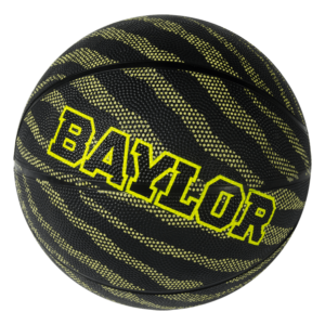 Custom 8 Panel Rubber Camp Basketball - Example 1