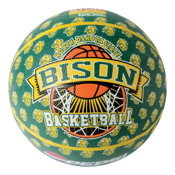 Custom 8 Panel Rubber Camp Basketball - Example 5