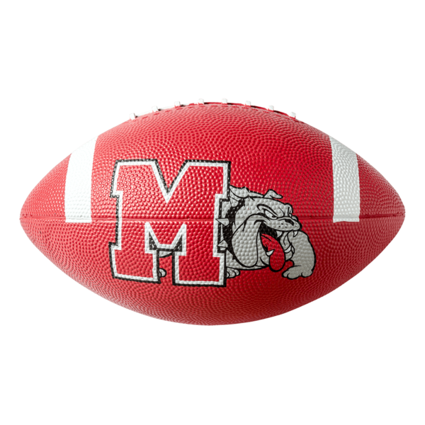 Custom Rubber Camp Football - Example 1