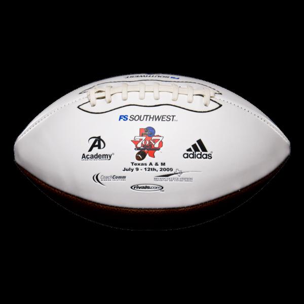 Custom Signature Football Example 3