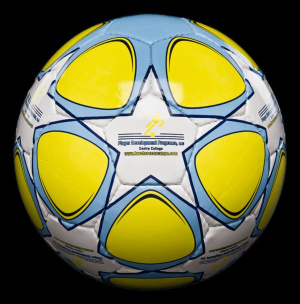 Custom Sparta Level Game Grade Soccer Ball - Example 1