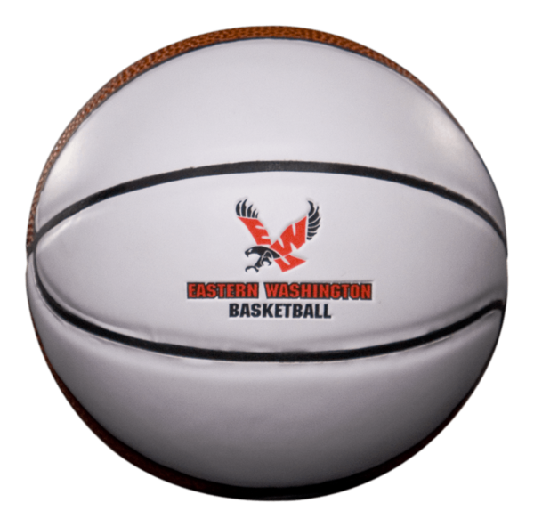 Mini Custom Signature Basketball - Example 2