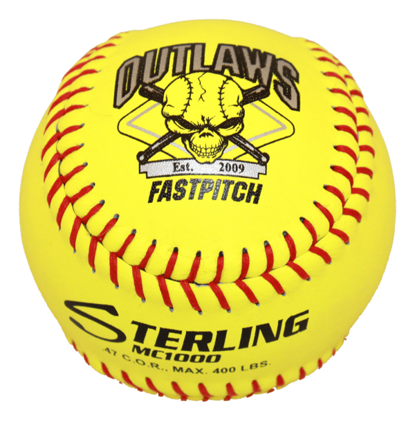 Speed Print MC1000 FastPitch Game Leather Softball - Example 12