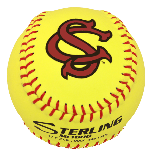 Speed Print MC1000 FastPitch Game Leather Softball - Example 15