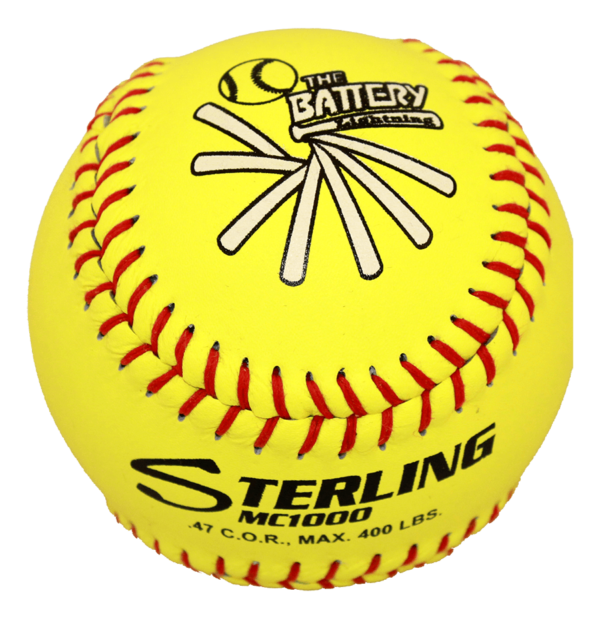 Speed Print MC1000 FastPitch Game Leather Softball - Example 16