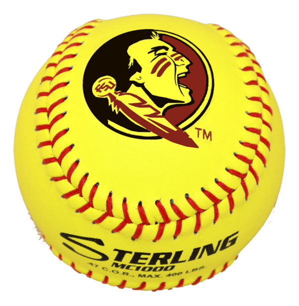 Speed Print MC1000 FastPitch Game Leather Softball - Example 4