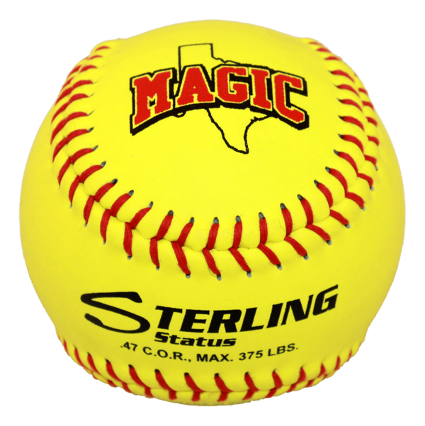 Speed Print Status FastPitch Game Leather Softball - Example 10