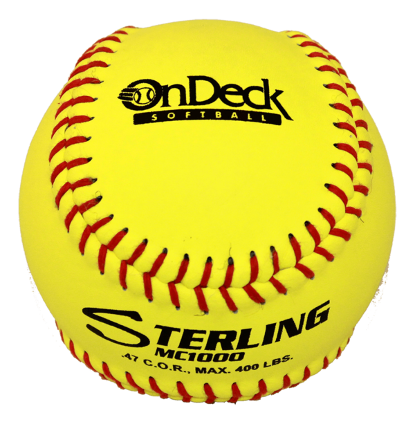 Speed Print Status FastPitch Game Leather Softball - Example 11