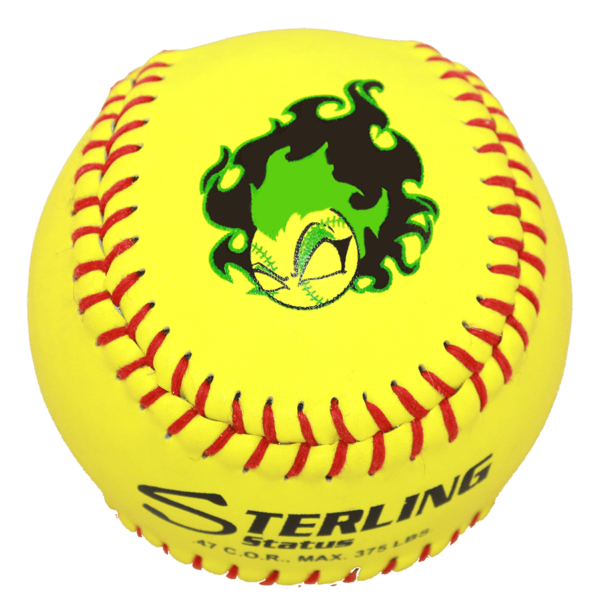Speed Print Status FastPitch Game Leather Softball - Example 2