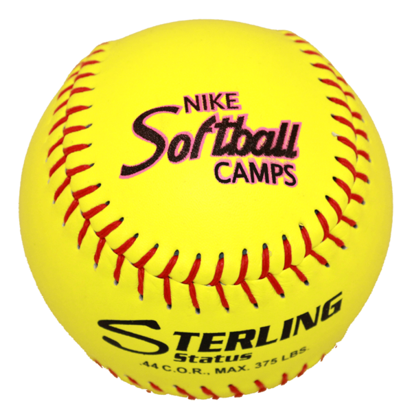 Speed Print Status FastPitch Game Leather Softball - Example 4