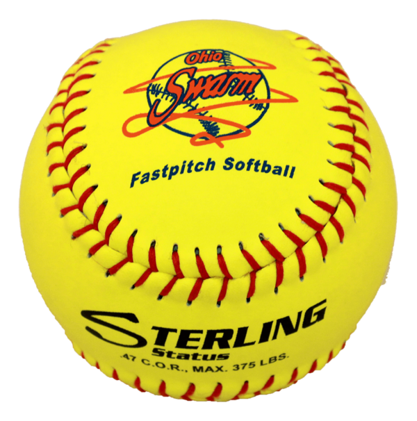 Speed Print Status FastPitch Game Leather Softball - Example 9
