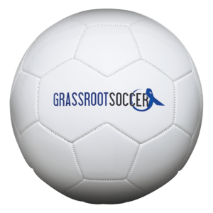 Speed Print White Soccer Ball - Example 1