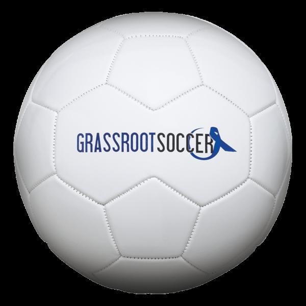 Speed Print White Soccer Ball - Example 1