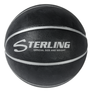 Superior Grip Rubber Camp Basketball - Black