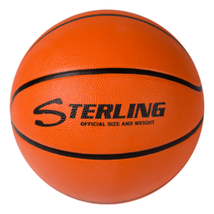Superior Grip Rubber Camp Basketball - Orange