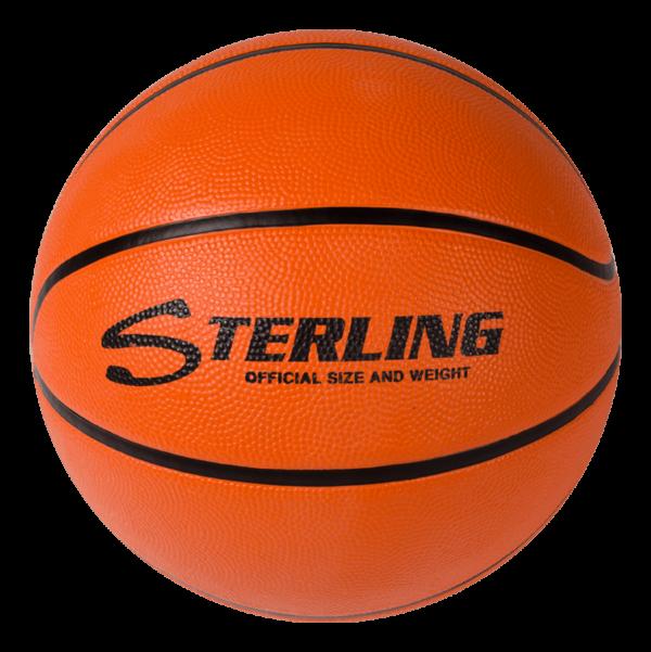 Superior Grip Rubber Camp Basketball - Orange
