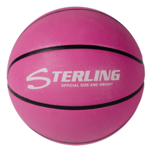 Superior Grip Rubber Camp Basketball - Pink