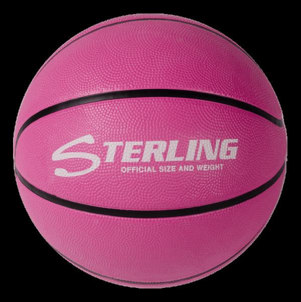 Superior Grip Rubber Camp Basketball - Pink