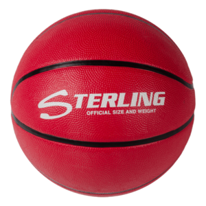 Superior Grip Rubber Camp Basketball - Red