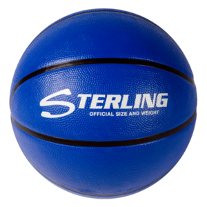 Superior Grip Rubber Camp Basketball - Royal