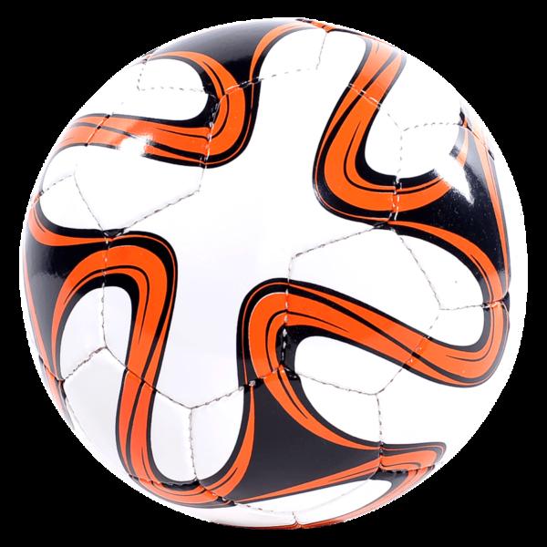World Cup Hand-Sewn Soccer Ball - White/Orange/Black