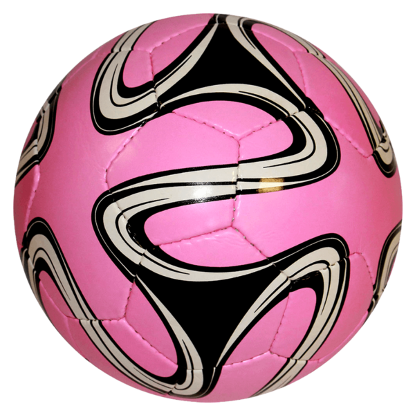 World Cup Hand-Sewn Soccer Ball - Pink/Black/White