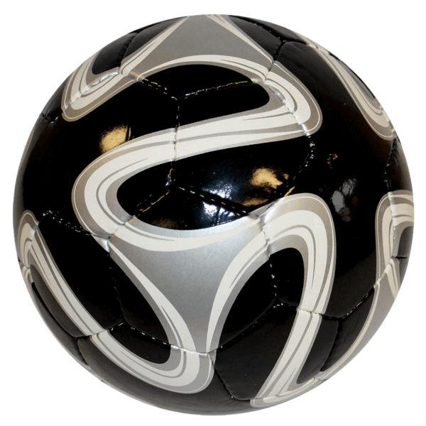 World Cup Hand-Sewn Soccer Ball - Black/Silver/White