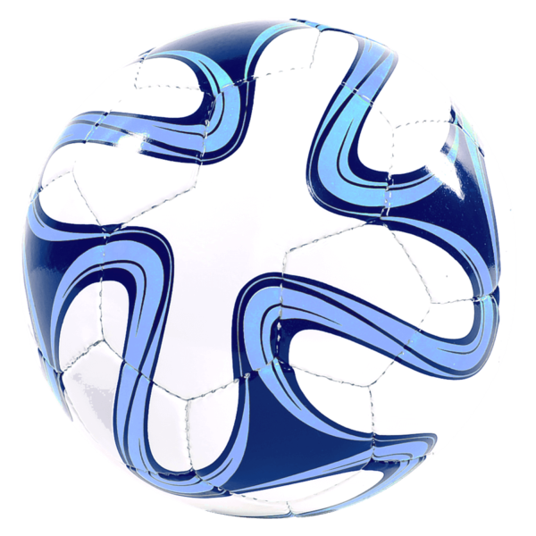 World Cup Hand-Sewn Soccer Ball - White/Royal