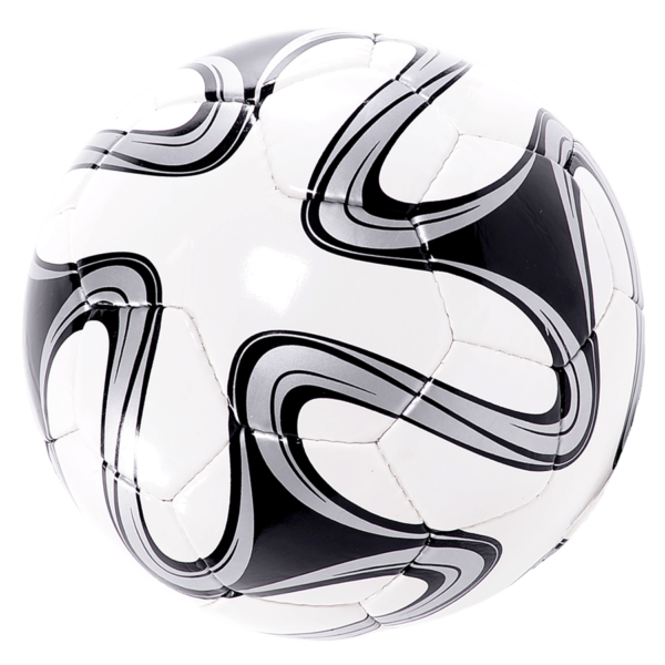 World Cup Hand-Sewn Soccer Ball - White/Black/Silver