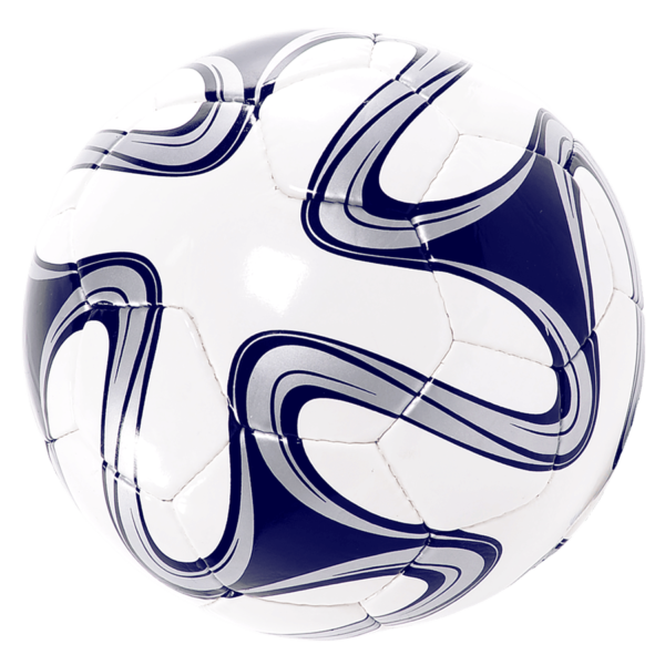 World Cup Hand-Sewn Soccer Ball - White/Navy