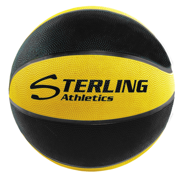 8-Panel Rubber Camp Ball - Black-Gold