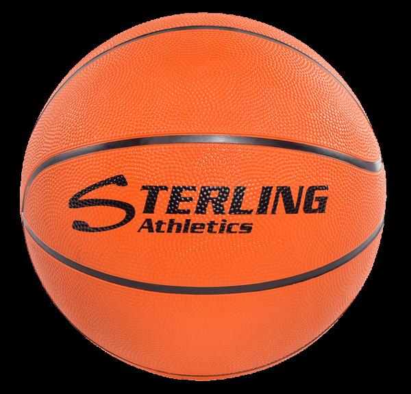 8-Panel Rubber Camp Ball - Orange
