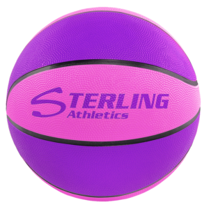 8-Panel Rubber Camp Ball - Purple-Pink
