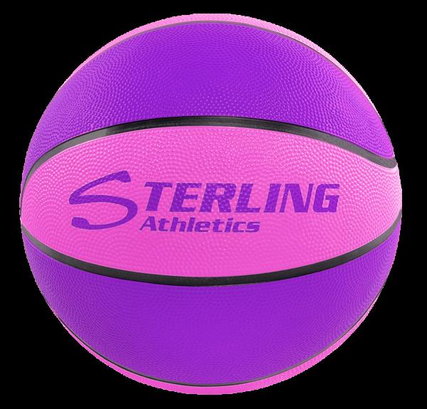 8-Panel Rubber Camp Ball - Purple-Pink
